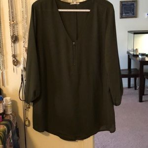 Maurices 'perfect blouse' // size XXL